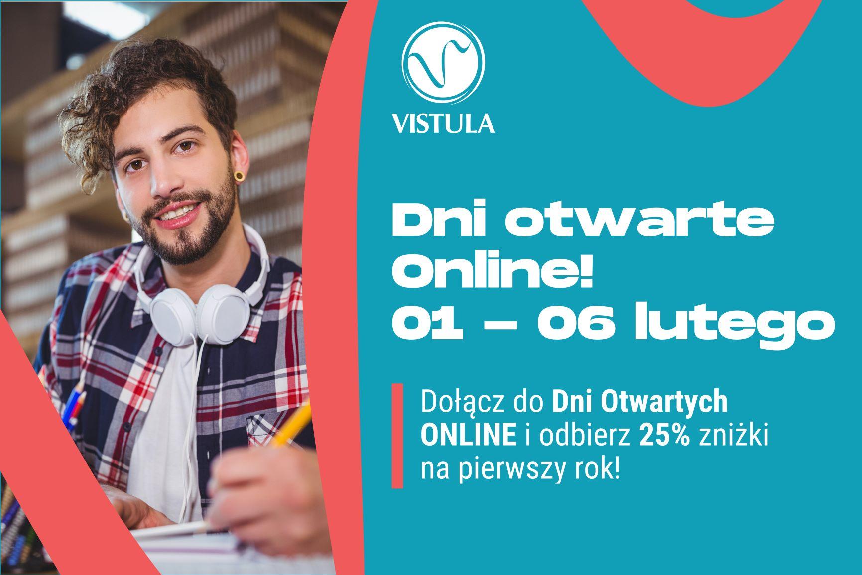 Dni Otwarte Online w Uczelniach Vistula