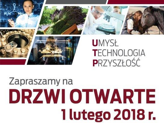 Uniwersytet Technologiczno-Przyrodniczy im. J. J. Śniadeckich w Bydgoszczy zaprasza na Drzwi Otwarte